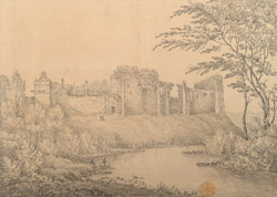 Cockermouth Castle, Cumberland 18.b